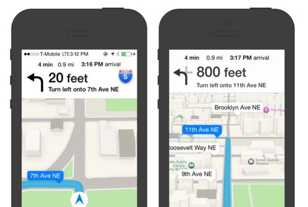 Google Maps vs Apple Maps. (UX Launchpad)
