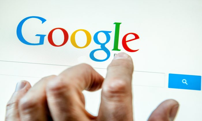 Google's home page. (Philippe Huguen/AFP/Getty Images)