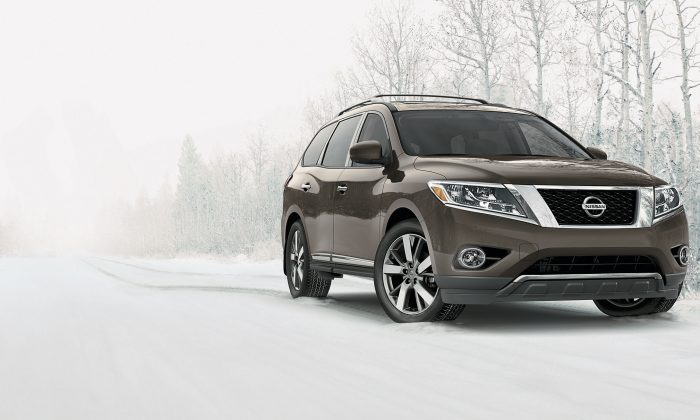 2015 Nissan Pathfinder (Courtesy of Nissan)