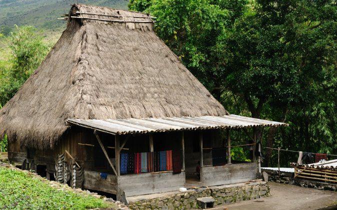 Bena minority village on the Flores island near Bajawa via Shutterstock*