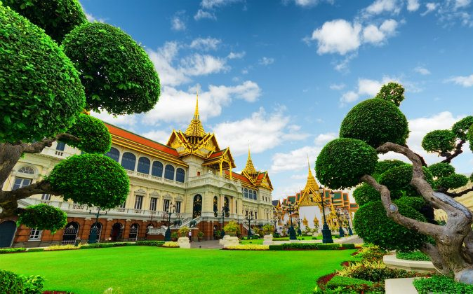Royal grand palace in Bangkok via Shutterstock*