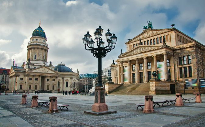 Gendarmenmarkt square in Berlin via Shutterstock*
