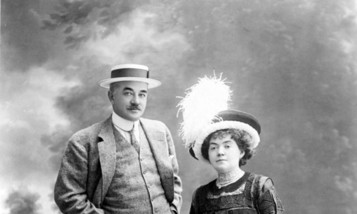Milton and Caherine Hershey make a handsome couple. (Courtesy Hershey Foundation)