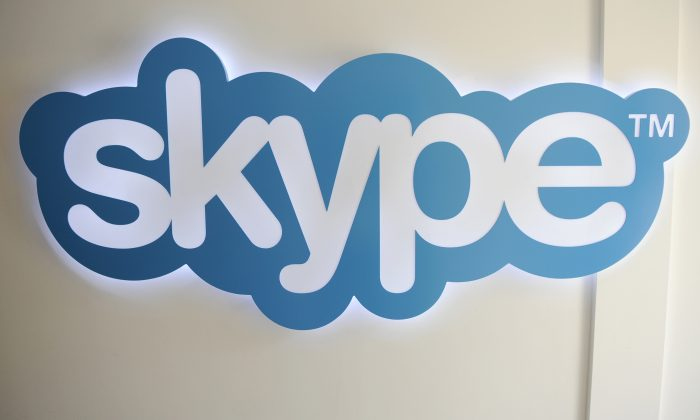 The Skype logo is pictured at Skype headquarters in Luxembourg, Tuesday, May 10, 2011. (AP Photo)