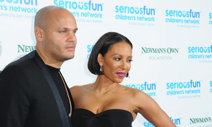 Melanie Brown and Stephan Belafonte attend the Serious Fun Gala at The Roundhouse on November 4, 2014 in London, England. (Photo by Stuart C. Wilson/Getty Images)