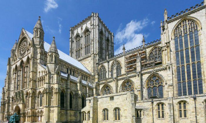 York Minster, York, England via Shutterstock*