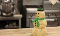 How to Make an Edible Snowman