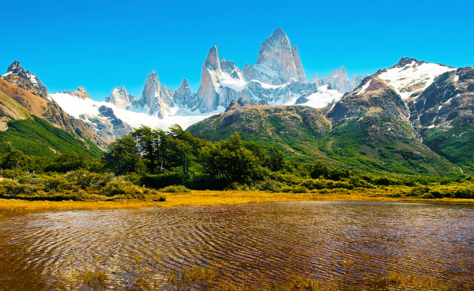Los Glaciares National Park, Patagonia, Argentin via Shutterstock*