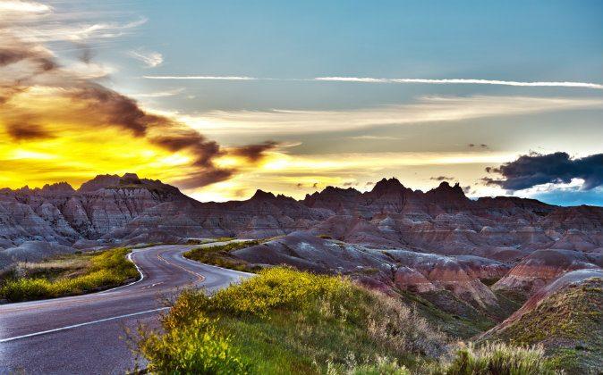 Badlands National Park via Shutterstock*