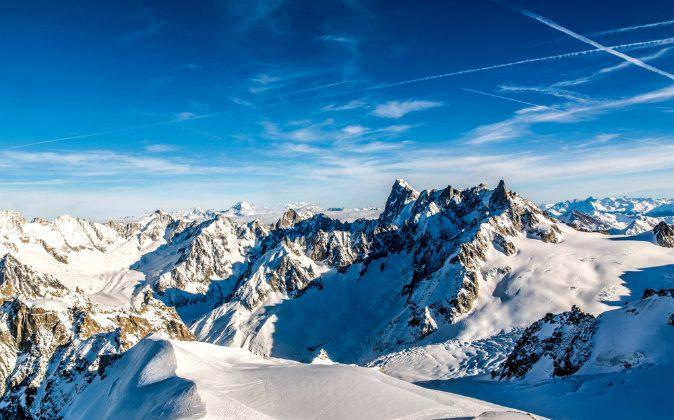 Aiguille du Midi, Chamonix, France via Shutterstock*