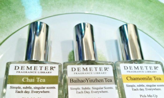 A few of Demeter's tea scents