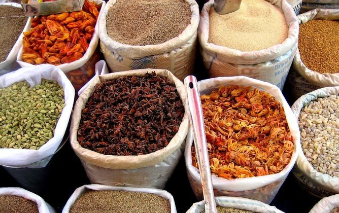 Spices and other aromatics have been a driving force in human history. (Wikimedia Commons)