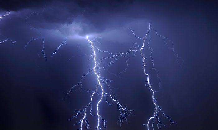 Thunderstorms produce powerful gamma rays, the brightest light naturally produced on earth. (Ethan Miller/Getty Images)