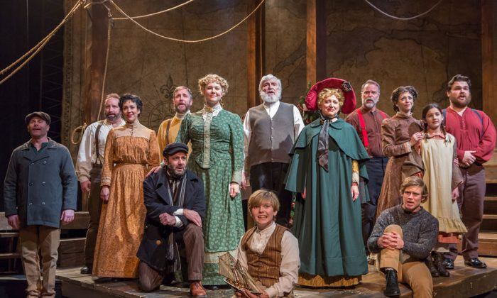 "The entire cast of ""The Christmas Schooner: A Musical."" (Brett Beiner)"