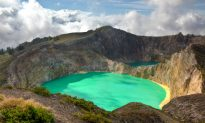 The Colored Lakes of Kelimutu