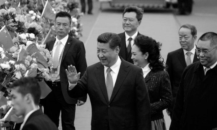 """Look people, no democracy... er i mean, umbrellas!"" (AP Photo/Xinhua, Cheong Kam Ka)"