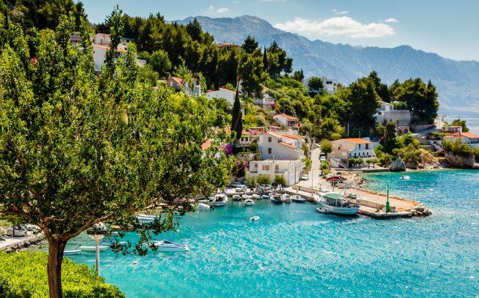Adriatic Bay, Croatia via Shutterstock*