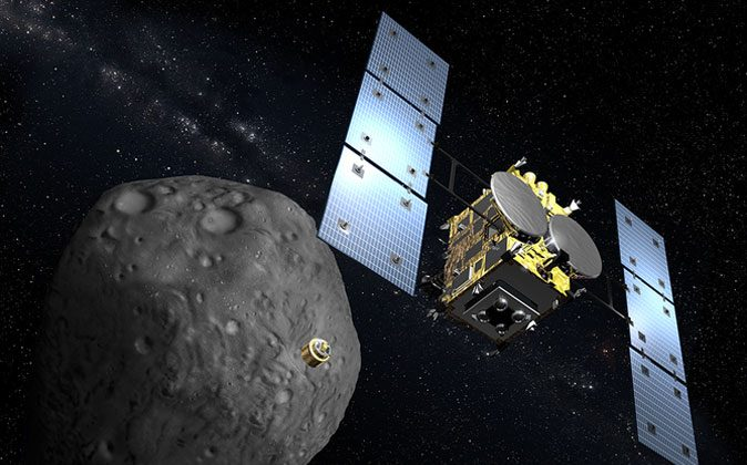 In space, no one can appreciate your artistic spacecraft rendering. (JAXA)