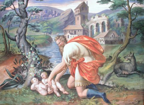 The most famous account of attempted infanticide, in which babies were left exposed to the elements, is the story of Romulus and Remus (Wikimedia Commons)