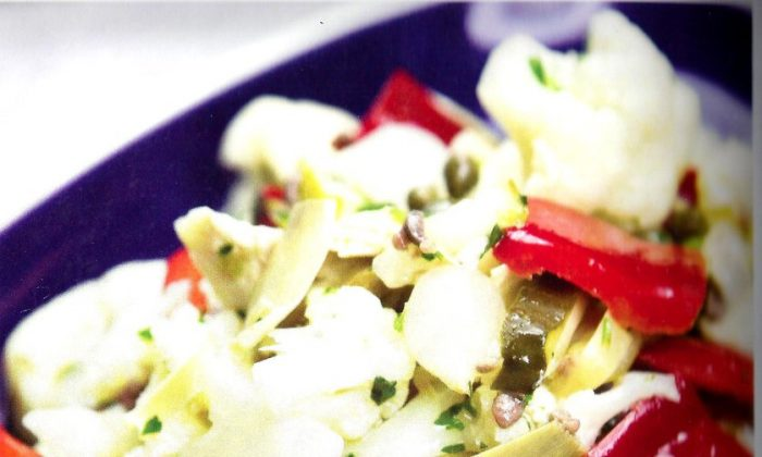 Naples-Style Cauliflower With Lemon and Anchovy Vinaigrette. (St. Martin's Press)