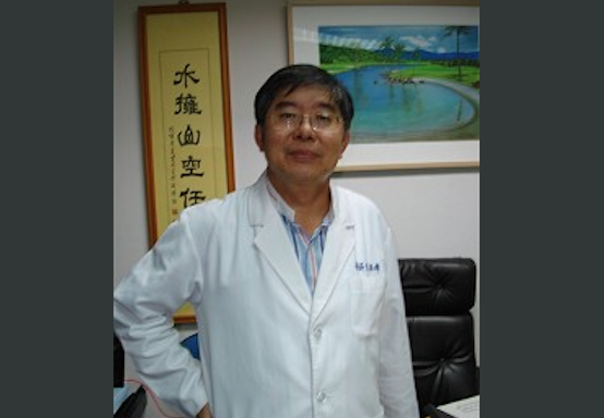 Lee Po-chang, the head of Taiwan's Organ Registry and Sharing Center. (Sun Kuo-ying/Epoch Times)