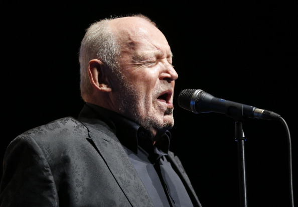 """Joe Cocker, the longtime singer of hits likes """"You Are So Beautiful"""" and """"When a Man Loves a Woman"""" has died at age 70. (VALERY HACHE/AFP/Getty Images)"""