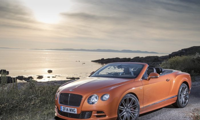 2015 Bentley Continental GT Convertible (Courtesy of NetCarShow.com)