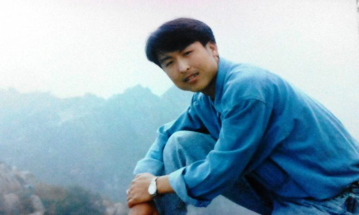 Tian Yunhai, who has been illegally imprisoned for 10 years in China because of his beliefs. (Courtesy of Pan Qi)