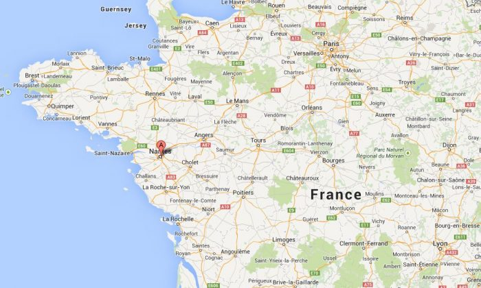 Several people were injured Monday after a car slammed into a Christmas market in Nantes, France, according to early reports.