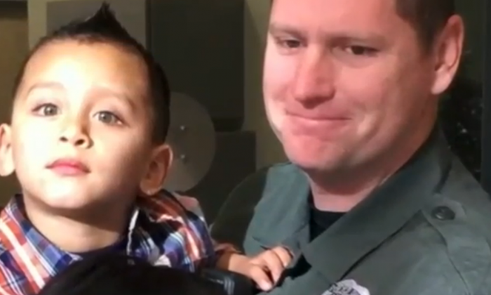 Utah Officer saves 3-year-old boy from choking (AOL Video)