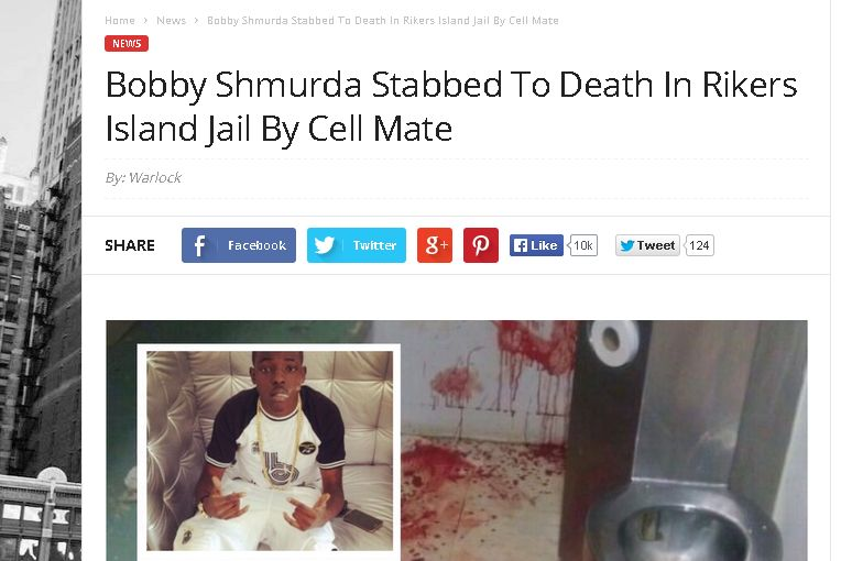 Bobby Shmurda Died? 'Stabbed to Death in Rikers Island Jail