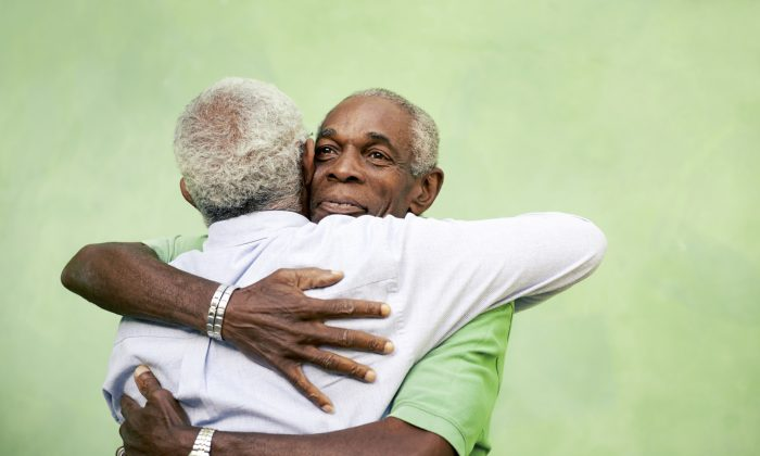 A new study at Carnegie Mellon University found that people who hugged more were better able to fight off infection. (diego cervo/iStock/Thinkstock)