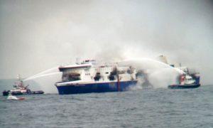 1 Dead, Hundreds Stranded in Greek Ferry Disaster