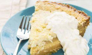 Recipe: Healthy Coconut Cream Pie
