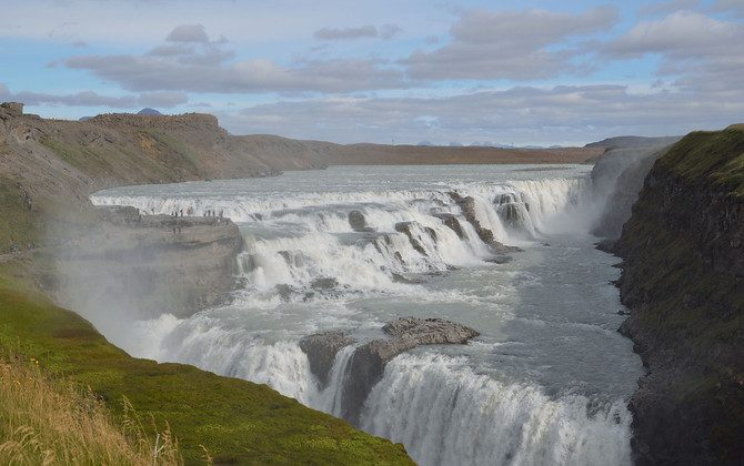 Gullfoss Waterfall (James Clark, Nomadic Notes)