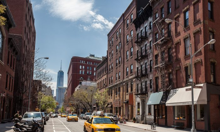Greenwich Village in New York, May 3. (Petr Svab/Epoch Times)