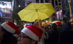Partying? Protesting? Hong Kong Police Will Decide During New Year Celebrations