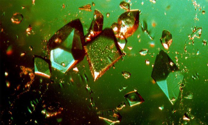 2014: the year crystallography went mainstream. (CSIRO, CC BY-SA)