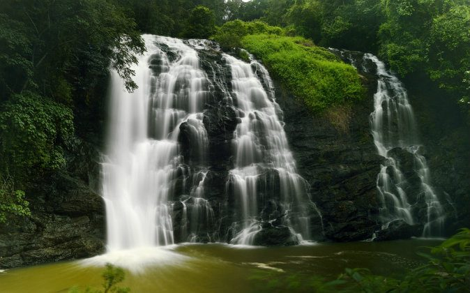 Abbey falls in the coorg region of Karnataka India. (Shutterstock*)