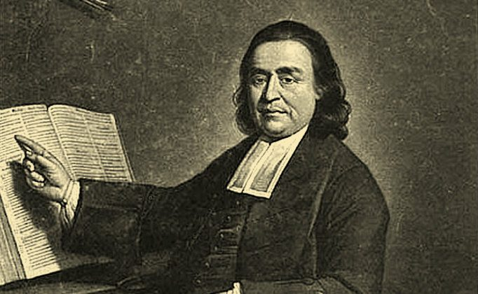 Samson Occom (1723-1792), an 18th century Mohegan minister and preacher, who wrote the deathbed narrative of a Mohegan Indian woman recently discovered. (Wikimedia Commons)