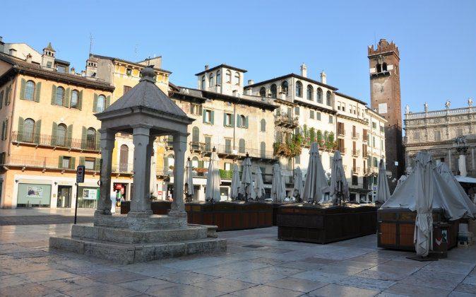 Verona, Piazza Erbe via Shutterstock*