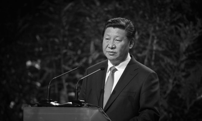 In this file photo Chinese President Xi Jinping addresses an audience during a visit to Auckland, New Zealand, on Nov. 21, 2014. (Greg Bowker/Getty Images)