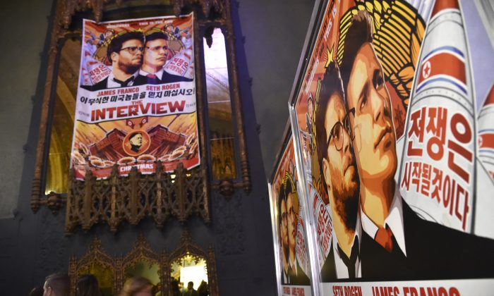 "The premiere of Columbia Pictures' ""The Interview,"" at The Theatre in the Ace Hotel, in downtown Los Angeles, on Dec. 11, 2014. (Frazer Harrison/Getty Images)"