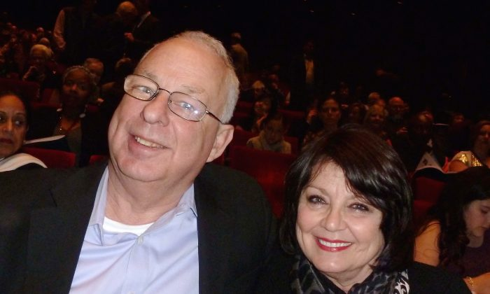 Wayne Sneed and his wife, Becky, attend Shen Yun Performing Arts at Houston's Jones Hall, on Dec. 30, 2014. (Epoch Times)