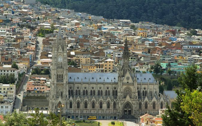 Quito from Itchimbia, Ecuador via Shutterstock*