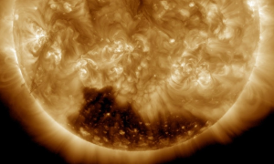 Coronal Hole on Sun Captured by NASA on New Year's Day (+Photo)