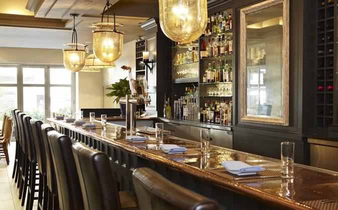 The bar at Molyvos. (Paul Johnson)
