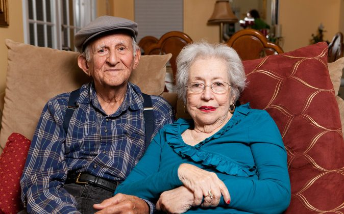 A file photo of an elderly couple. (Shutterstock*)