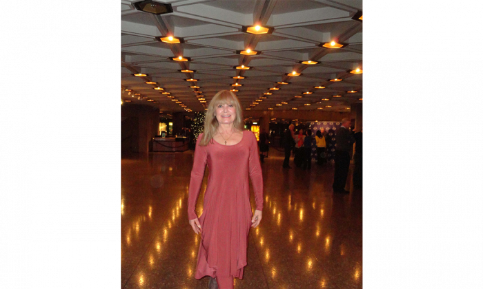 Former Ukrainian dancer Beverley Ann Bazowski at the Shen Yun Performing Arts opening night at Ottawa's National Arts Centre, Friday, Jan. 2, 2014. (Madalina Hubert/Epoch Times)