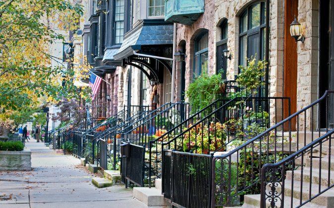 Residential street in Chicago via Shutterstock*